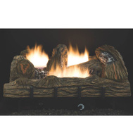 FMI CF2436PT Comfort Flame 24 Inch Vent Free Propane Gas Logs With Thermostat