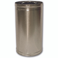 FMI 24-8DM Pipe Chimney Insulated 24In Ss