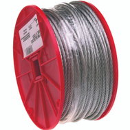 Campbell Chain 7000927 Uncoated Cable 5/16 Inch By 200 Foot Galvanized Steel