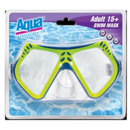 Aqua Leisure AQM1154 Dual Lens Swim Mask