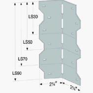 Simpson Strong Tie LS50 G90 5 Inch Skewable Angle