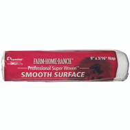 Premier Paint Roller FHR00155 Roller Finish 9In X 3/16In Nap