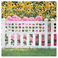 Suncast GVF24 20 1/2 By 24 Inch White Fence