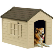 Suncast DH250 24 By 22 By 29 Inch Deluxe Dog House