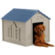 Suncast DH350 29 By 37 By 31 Inch Deluxe Dog House