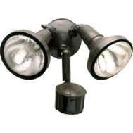 Cooper Lighting MS185R Bronze Motion Flood Light With Cover