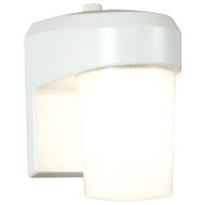 Cooper Lighting FE13PCW White 13 Watt Fluorescent Entry Light