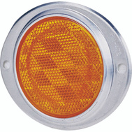 Peterson V472A Reflector Alu Ovl Amber 3In