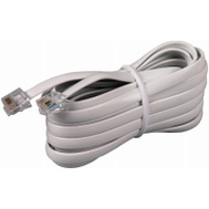 Audiovox TP231WHR 15 Foot WHT Mod Line Cord
