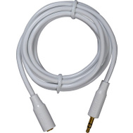 Audiovox AH735Z 6 Foot 3.5Mm WHT EXT Cable