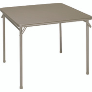 Cosco 14619ANT2 34 Inch Taupe Folding Table