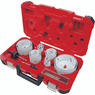 Milwaukee 49-22-4105 Hole Dozer 19 Piece Master Electricians Bi Metal Hole Saw Kit 3/4 To 4-3/4 Inch