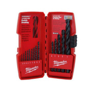 Milwaukee 48-89-2803 Thunderbolt 15 Piece Black Oxide High Speed Drill Bit Set 1/16 To 3/8 Inch
