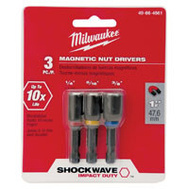 Milwaukee 49-66-4561 Nutdriver Magnetic Set
