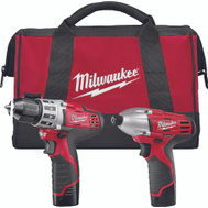 Milwaukee 2494-22 M12 Tool Combo Cdlss 2Pc M13 12V