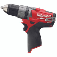 Milwaukee 2404-20 M12 M12 Fuel Cordless Hammer Drill/Drivers, 1/2 Inch, 12 Volt