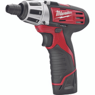 Milwaukee 2401-22 M12 12 Volt Lithium Ion Compact Drill Driver Kit