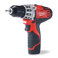 Milwaukee 2407-22 M12 Drill Driver Kit 3/8In M12