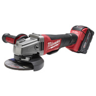 Milwaukee 2780-21 Kit Grndr Pdl Swth 4-1/2In/5In