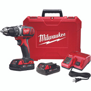Milwaukee 2606-22CT 18 Volt 1/2 Inch Cordless Drill/Driver Kit