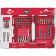 Milwaukee 48-89-1561 Shockwave 95 Piece Drill And Drive Hex Bit Set