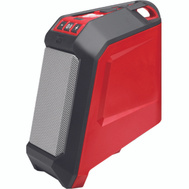 Milwaukee 2592-20 M12 REDLITHIUM Wireless Jobsite Speaker With Bluetooth Connectivity And 2.1 Amp USB Charger