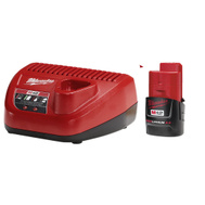 Milwaukee 48-59-2420 Battery/Charger Starter Kit