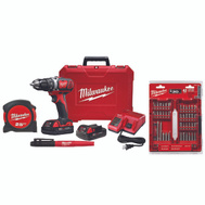 Milwaukee 2606-22CTP M18 Drill/Driver 1/2In Comp Kit18v