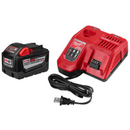 Milwaukee 48-59-1890 Battery M18 9Amp Starter Kit