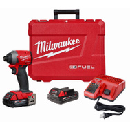 Milwaukee 2853-22CT Driver Impact Hex Cp Kit 1/4In