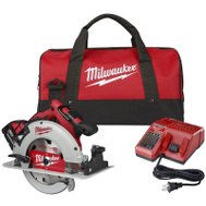 Milwaukee 2631-21 M18 Saw Kit Brshls Circ 7-1/4In