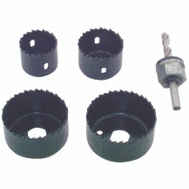 Vermont American 18398 5 Piece Hole Saw Set 1-1/4 To 2-1/8 Inch