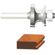 Vermont American 23137 Silver Series 1/8 Inch Edgebead Router Bit