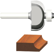 Vermont American 23140 Silver Series 3/8 Inch Cove Router Bit