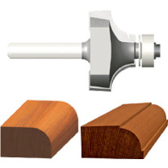 Vermont American 23144 3/8 Inch Cove Fillet Router Bit