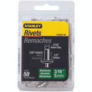Stanley Tools PAA68-5B Aluminum Rivets 5O Pack