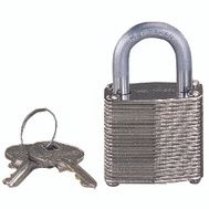 ProSource HD00010 1-1/4 Inch Laminated Steel Padlock