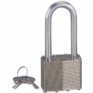 ProSource HD00022L 1-3/4 Inch Laminated Steel Padlock With 2 Inch Shackle