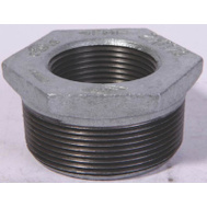 WorldWide Sourcing 35-1/2X3/8G 1/2 By 3/8 Inch Galvanized Malleable Bushing