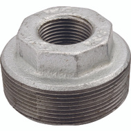 WorldWide Sourcing 35-1-1/2X3/4G 1-1/2 By 3/4 Inch Galvanized Malleable Bushing