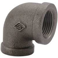 WorldWide Sourcing 2A-1-1/2B 1-1/2 Inch Black Pipe 90 Degree Elbow