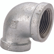 WorldWide Sourcing 2A1-1/2G 1-1/2 Inch Galvanized 90 Degree Elbow