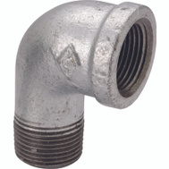 WorldWide Sourcing 6-1G 1 Inch Galvanized 90 Degree Street Elbow 1