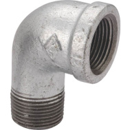 WorldWide Sourcing 6-1-1/2G 1-1/2 Inch Galvanized 90 Degree Street Elbow 1 1/2