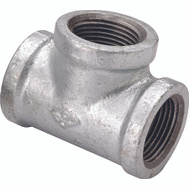 WorldWide Sourcing 11A-1G 1 Inch Galvanized Tee