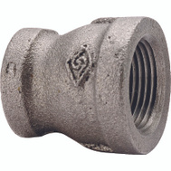 WorldWide Sourcing 24-1/2X3/8B 1/2 By 3/8 Inch Black Pipe Reducing Coupling