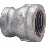 WorldWide Sourcing 24-3/4X1/2G 3/4 By 1/2 Inch Galvanized Reducing Coupling
