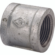 WorldWide Sourcing 21-1/2G Galvanized Malleable Coupling 1/2 Inch
