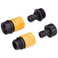 Landscapers Select GC520+GC540+GC522 Hose Connector Set 3/4 Inch 4 Piece
