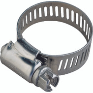 ProSource HCRSS12 Hose Clamp Stainless Steel With Stainless Steel Screw 1/2 Inch Band By 11/16 To 1-1/4 Inch Number 12